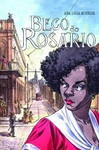 """Capa do preview da HQ """"Beco do Rosário"""""""