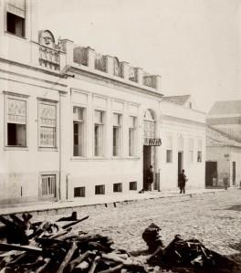 O Beco do Rosário na altura do nr. 33. Coleção Eva Schmidt, Fototeca Sioma Breitman.