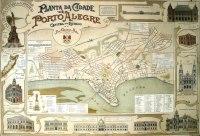 Planta de Porto Alegre em 1906.