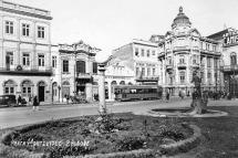 Beco da Ópera - Praça Montevideo na década de 1930. Autor desconhecido. Fototeca Sioma Breitman do Museu de Porto Alegre Joaquim José Felizardo.