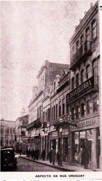 POA - Beco da Ópera - Rua_Uruguai_déc1930_w