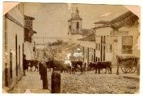 Foto 346f - Luis Terragno - Rua Vigário José Inácio esquina Rua General Vitorino - déc 1880. Fototeca Sioma Breitman (Museu de Porto Alegre).