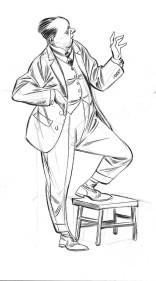 Sketchbook A5 cavalheiros - pincel-2