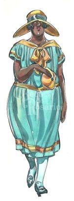 Moça em vestido acqua_w
