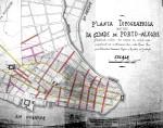 """Planta Topographica (antiga) da cidade de Porto Alegre"""