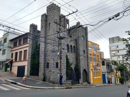 O castelinho do alto da Bronze. Rua Vasco Alves. Foto da Pesquisadora, 2018.
