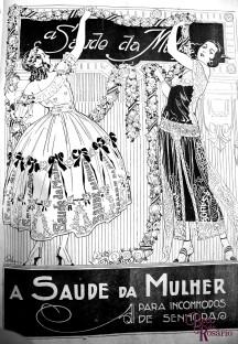 """Anúncio do tônico (?) """"Saúde da Mulher"""" n'A Mascara de 30/11/1924 (hemeroteca do MCSHJC)."""