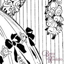 """Detalhe do anúncio """"Saúde da Mulher"""" mostrando a beleza da ténica do bico de pena em diferentes pesos de linha."""