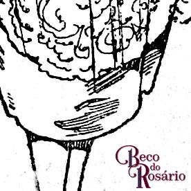 """Detalhe de hachuras no anúncio """"Modas"""" na revista A Mascara de 2/10/1920, Anno III, Num XVIII."""