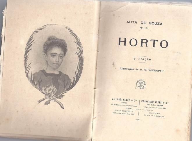 Auta de Souza - Frontispício HORTOA_enfikurten-com-br