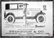 Anúncio da casa Byngton & Co n'A Federação de 12/5/1926. Hemeroteca do MCSHJC.