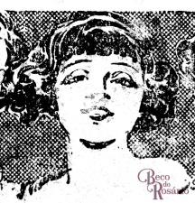 """Detalhe do anúncio do """"Extracto Gloria"""" mostrando a resolução elegante e simples dos traços do rosto e o uso do preto total nos cabelos, deixando luminosidade para reflexos."""